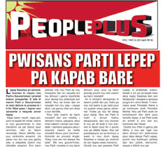 People Plus 22 April 2015