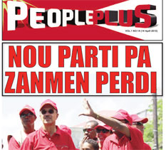 People Plus 14 April 2015